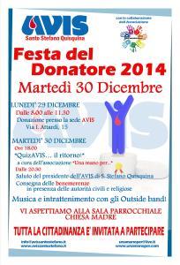 Festa del Donatore 2014